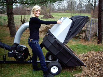 Trac Vac Outdoor Lawn Vacuum Leaf Vacuum Amp Grass Debris